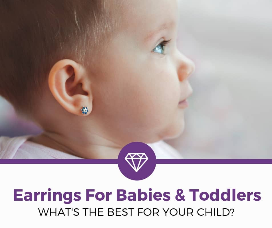 best Earrings For Babies and Toddlers