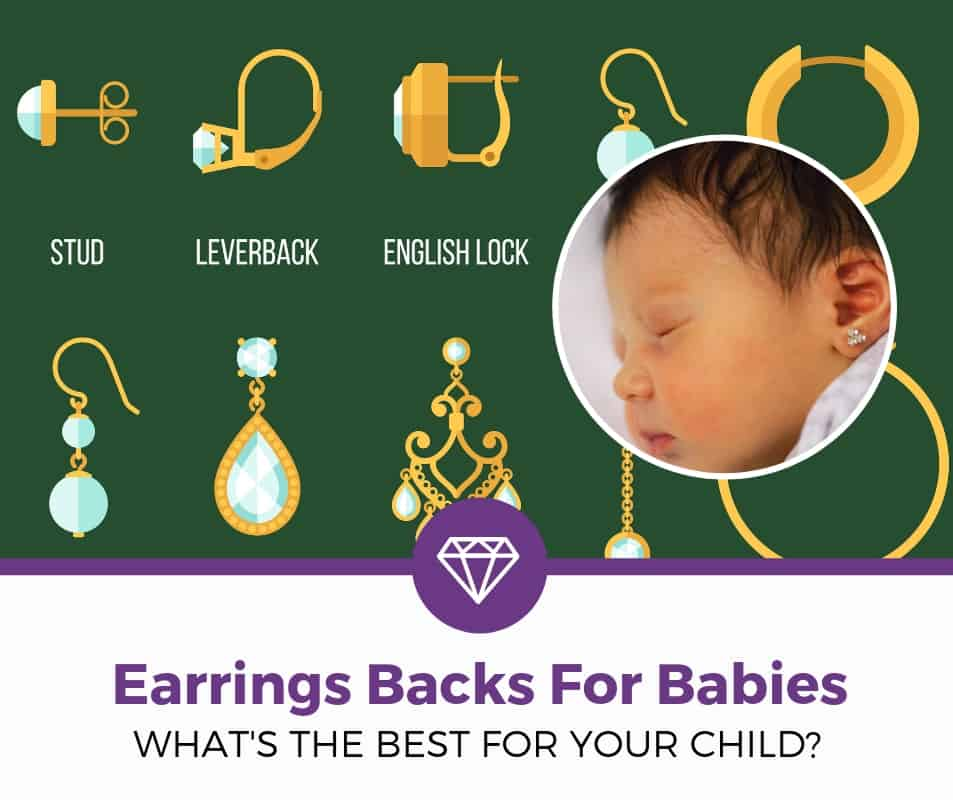 top best earring backs for babies and toddlers