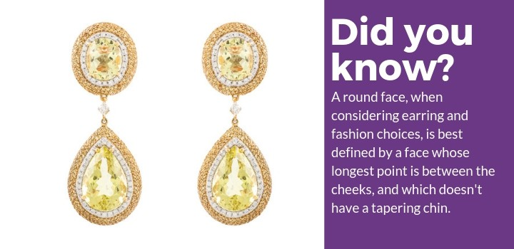 Best Earrings for a Round Face