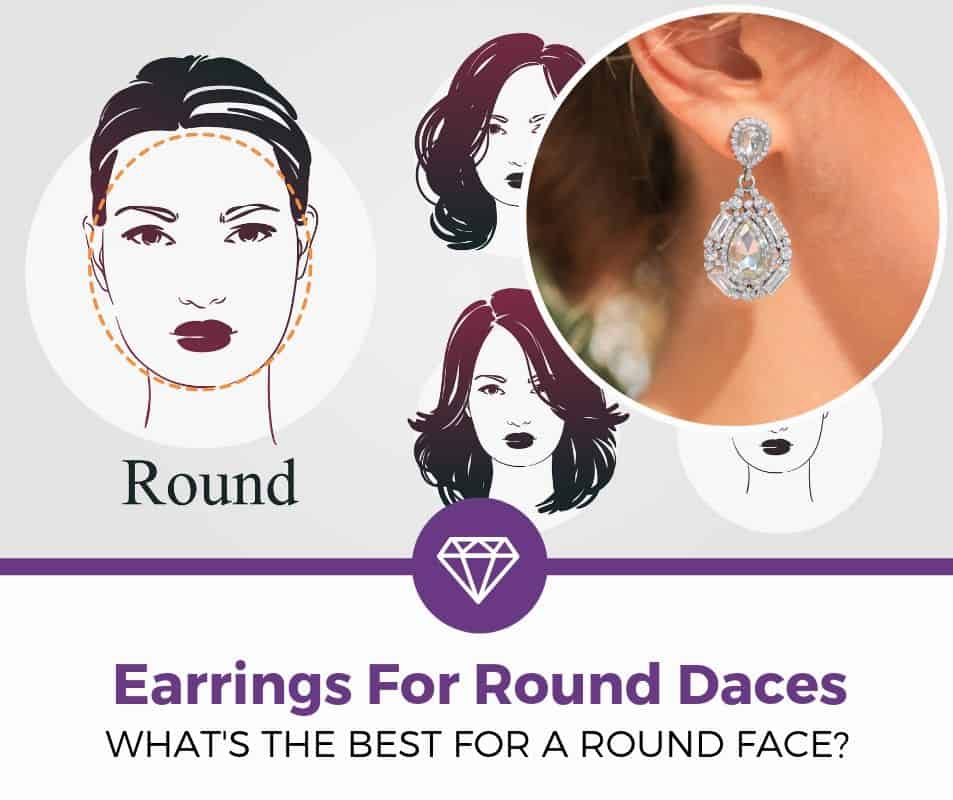 best earrings for round faces