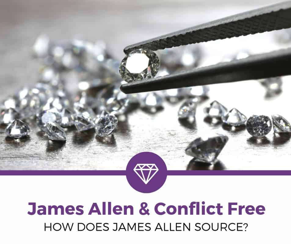 Are Jame Allen Diamonds Conflict Free
