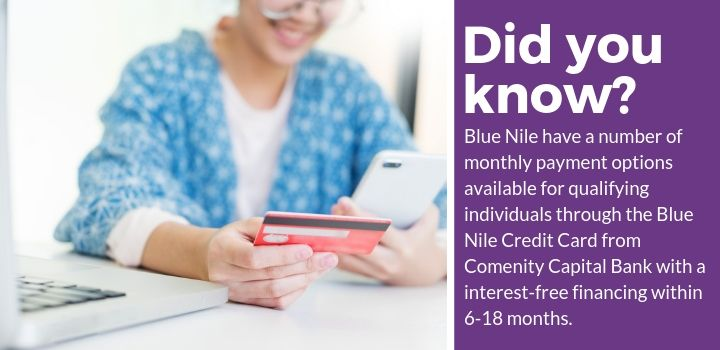 Blue Nile Monthly Payment Plans
