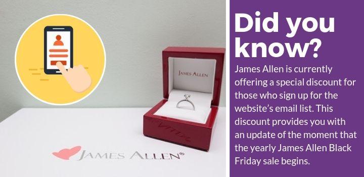 James Allen Discount Offer