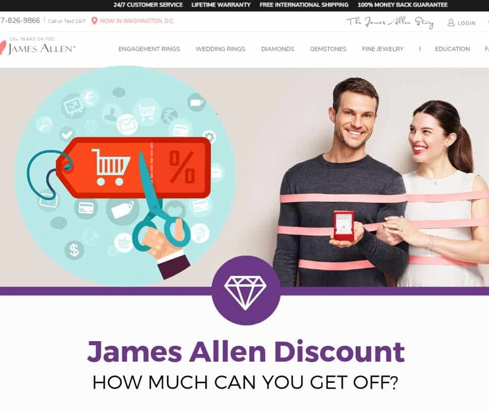 james allen coupon