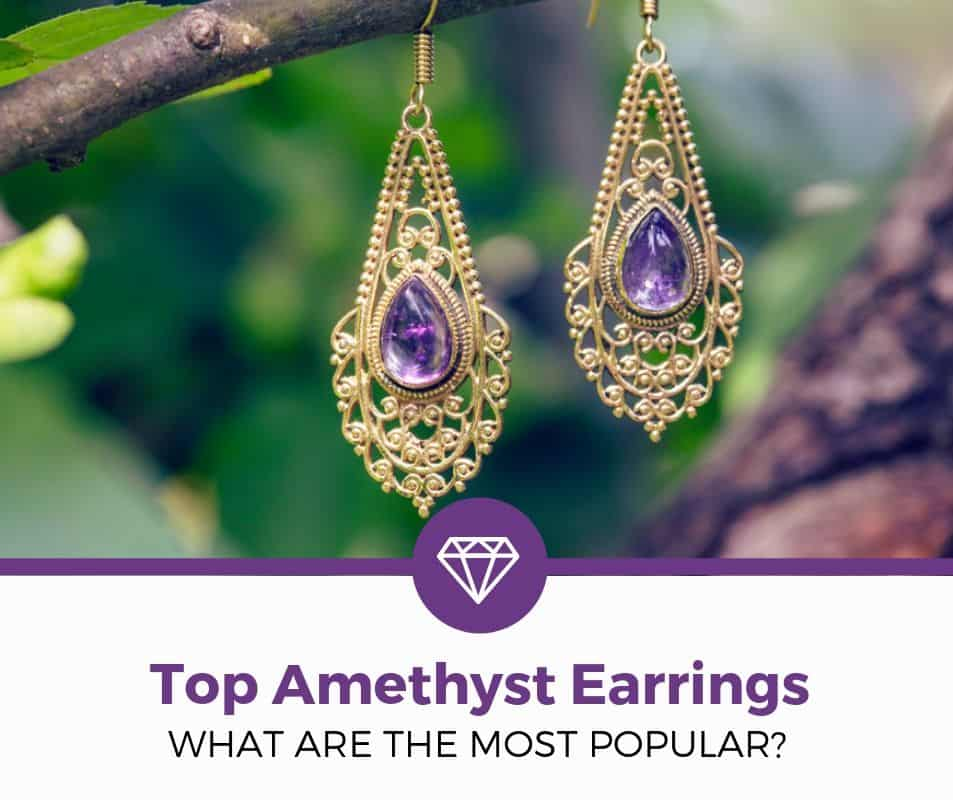 best amethyst earrings