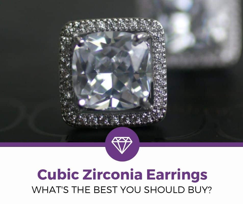 best cubic zirconia earrings