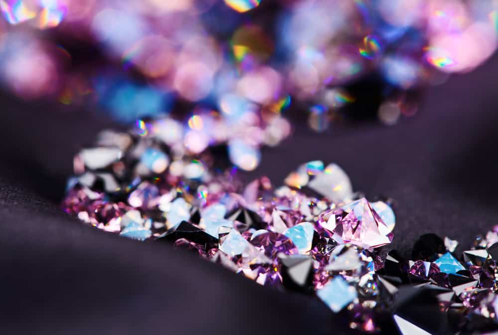 purple diamond gemstones