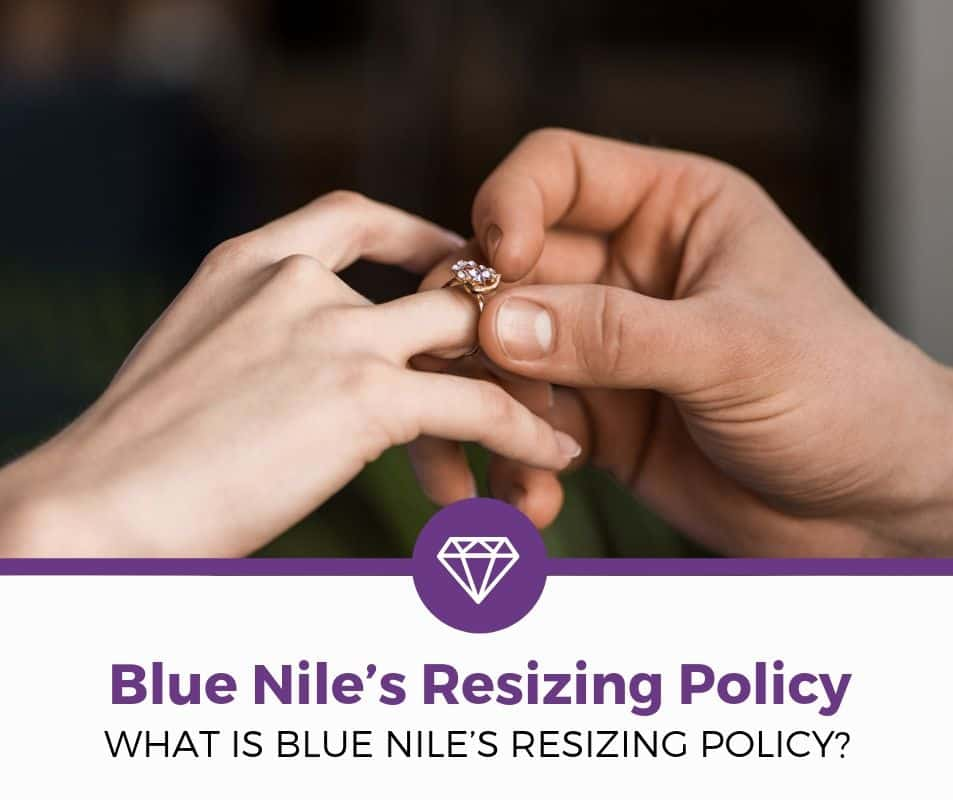 Blue Nile's Resizing Policy