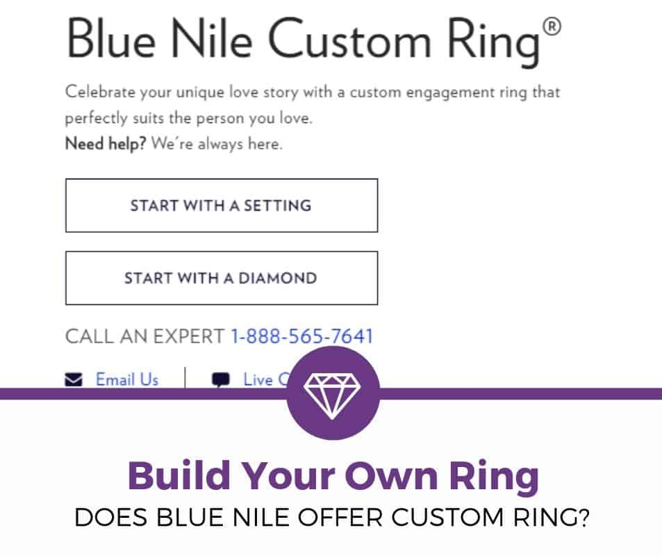 Blue Nile Custom Ring