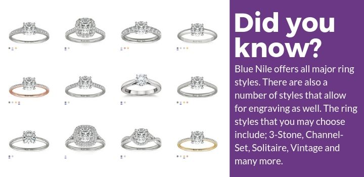 Blue Nile Ring Styles