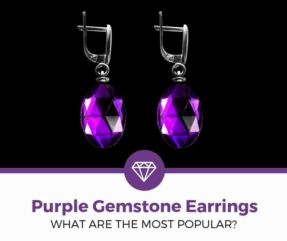 Best Purple Gemstone Earrings