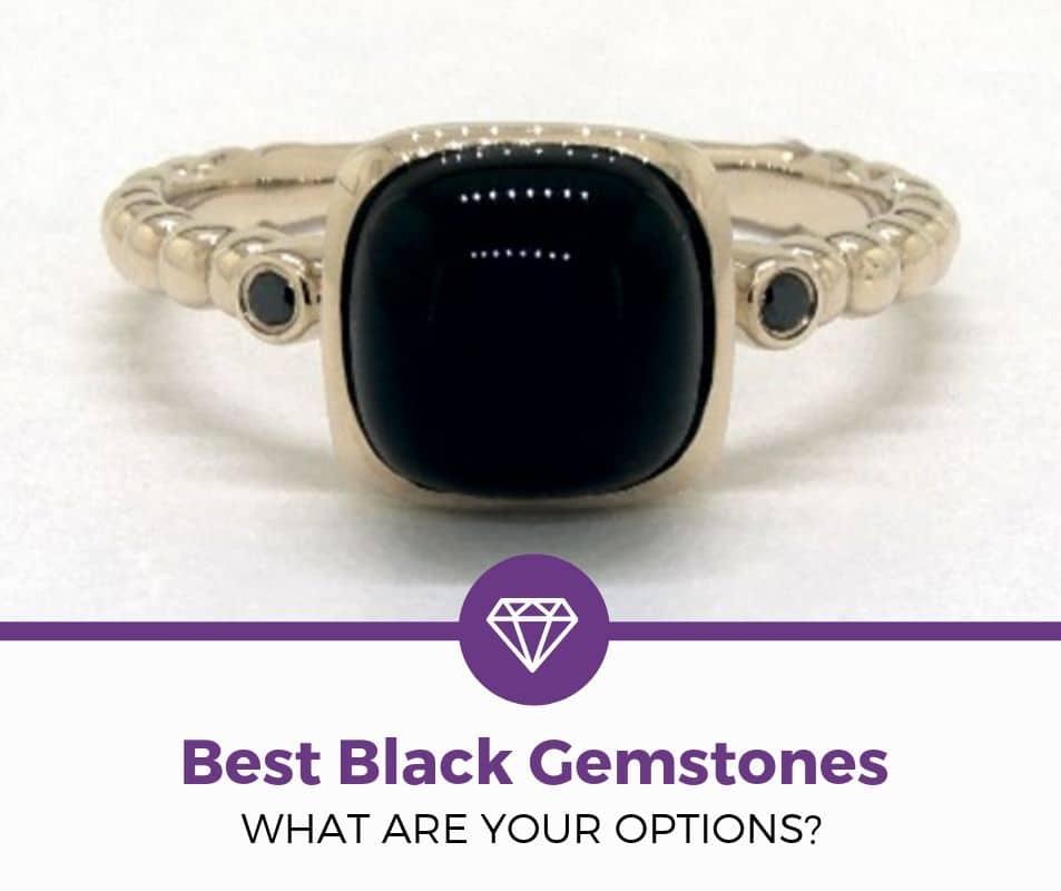 best black gemstones