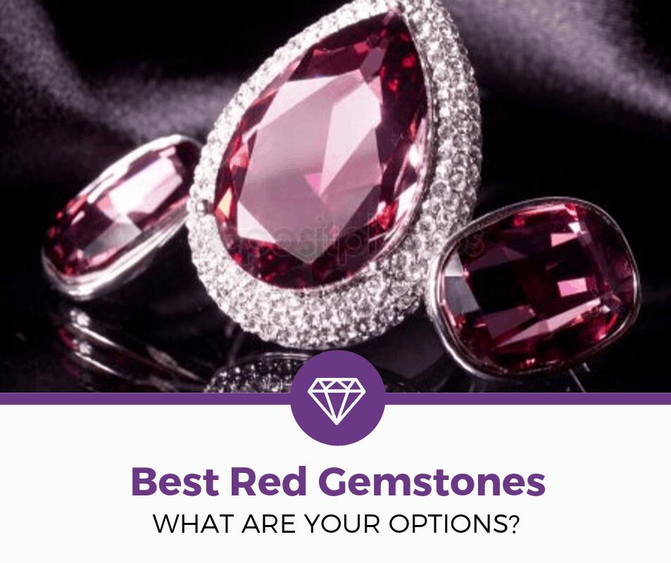 best red gemstones