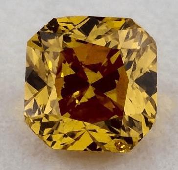 orange diamond jewelry
