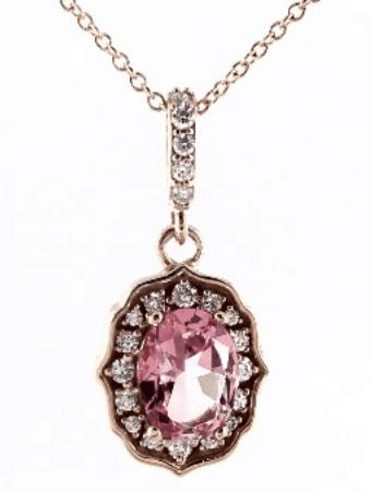 pink topaz jewelry