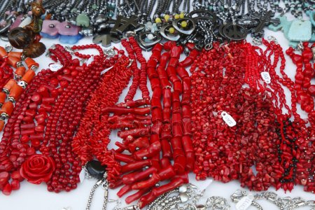 red coral jewelry