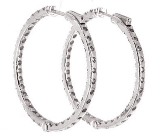expensive cartilage hoop earrings