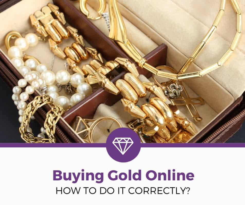 how to buy gold jewelry online