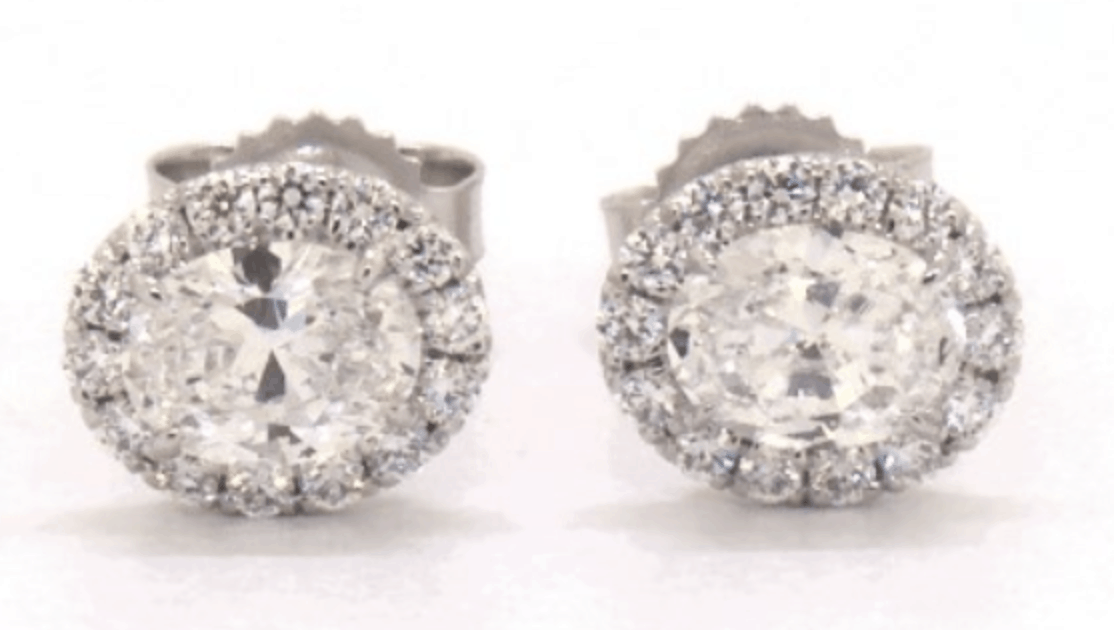 stud diamond earrings from james allen