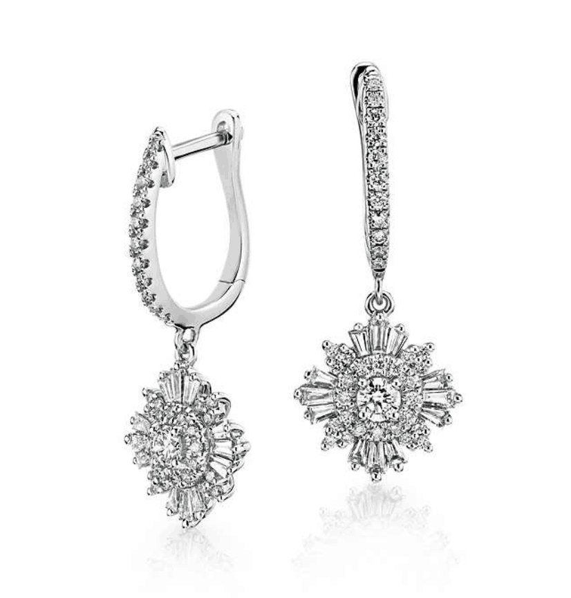 diamond earrings from blue nile