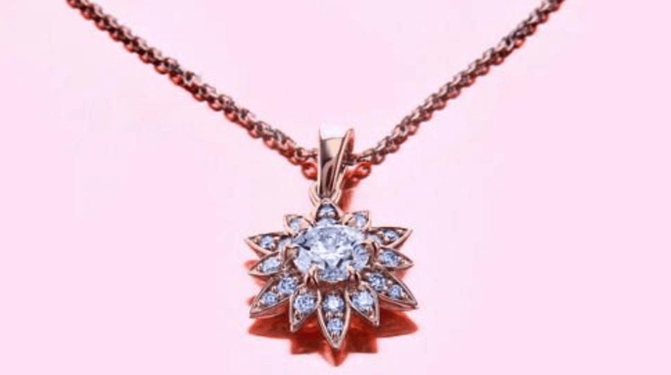 brian gavin flowers of paradise pendant