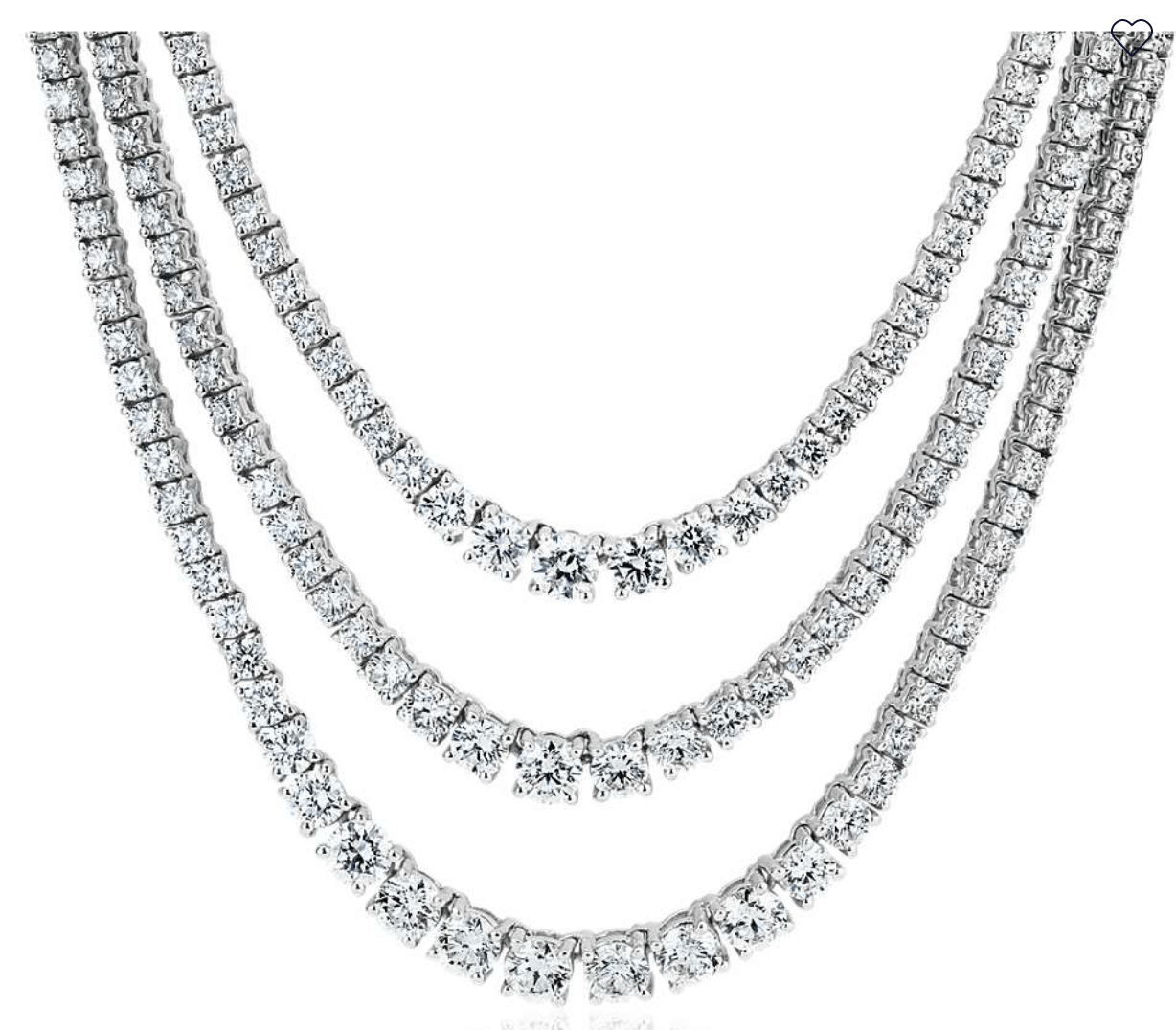 diamond necklaces from blue nile