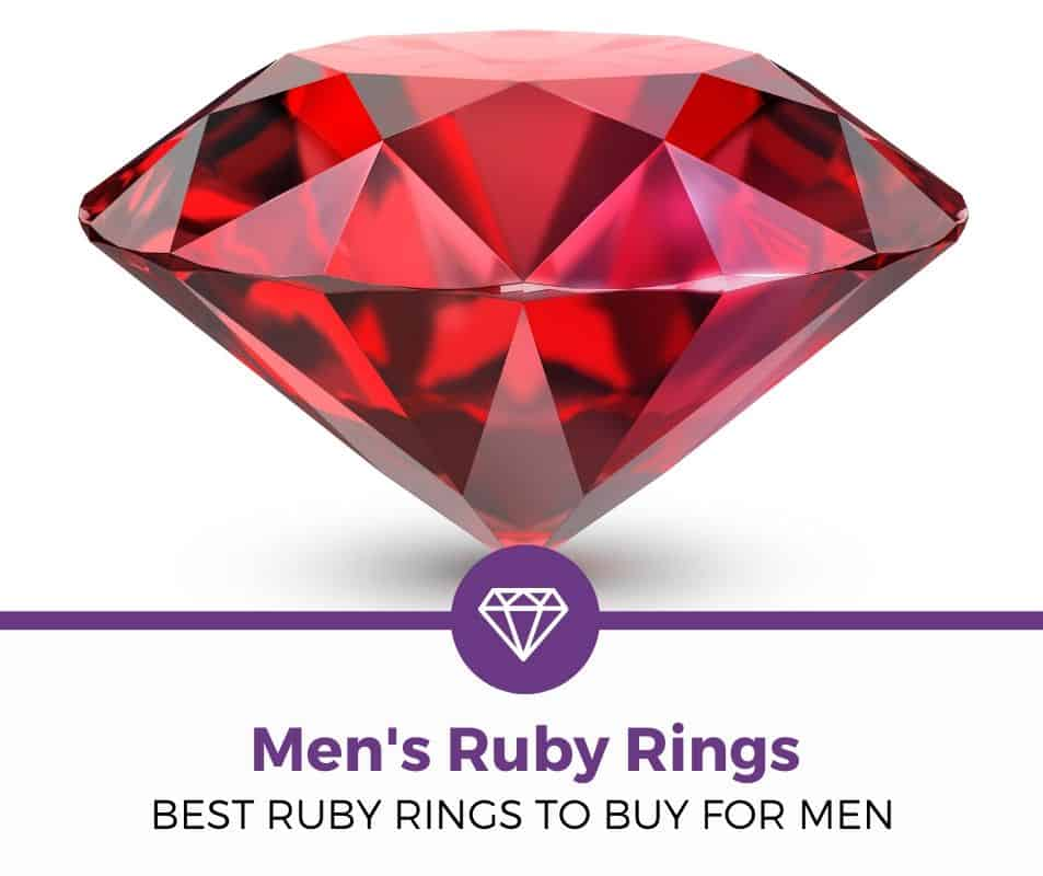top best men's ruby ring review