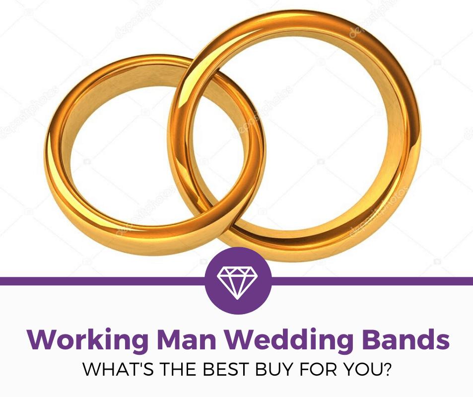 working man wedding bands