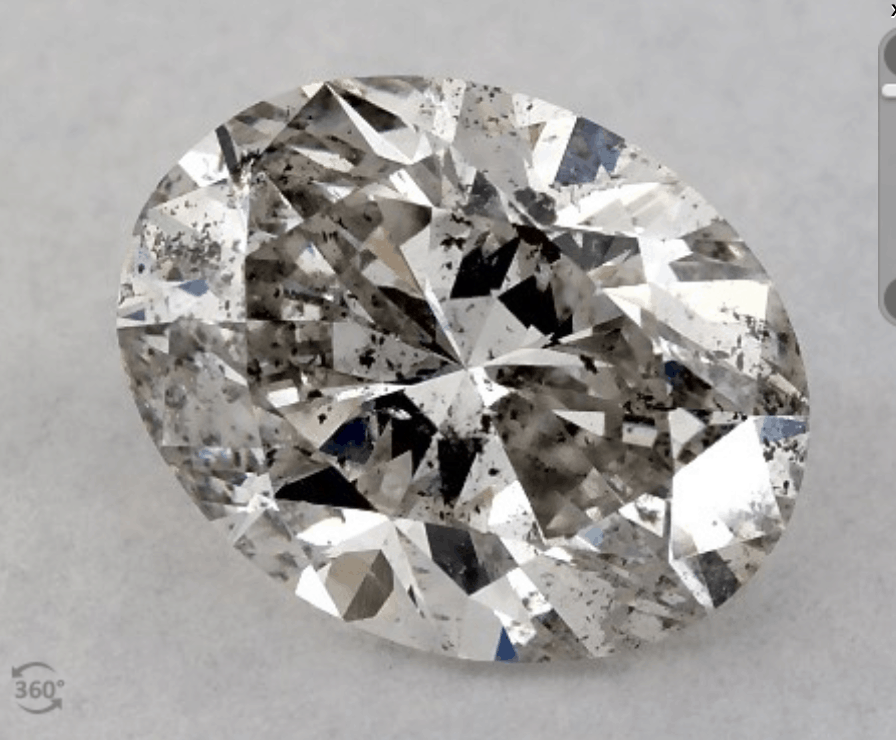 Kay diamond with inclusions