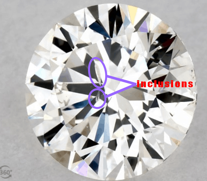 diamond inclusions