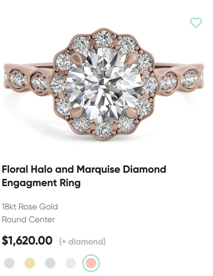 Ritani floral ring