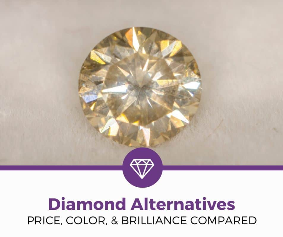diamond alternatives for engagement rings compared