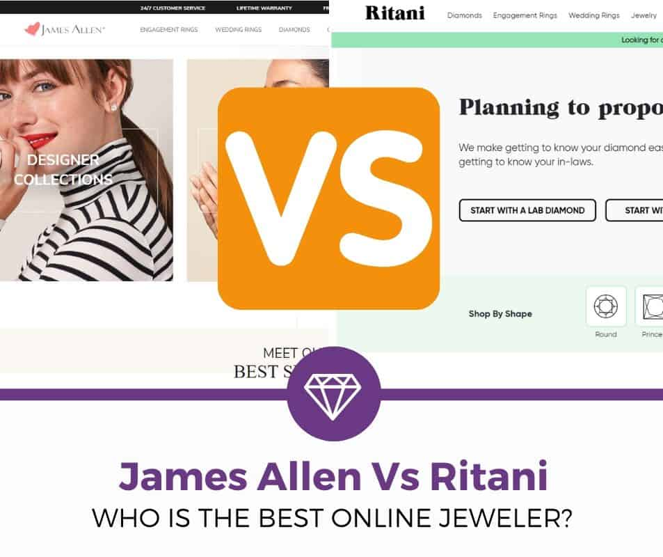 Ritani vs James Allen review