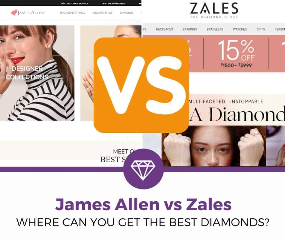 Zales vs James Allen review
