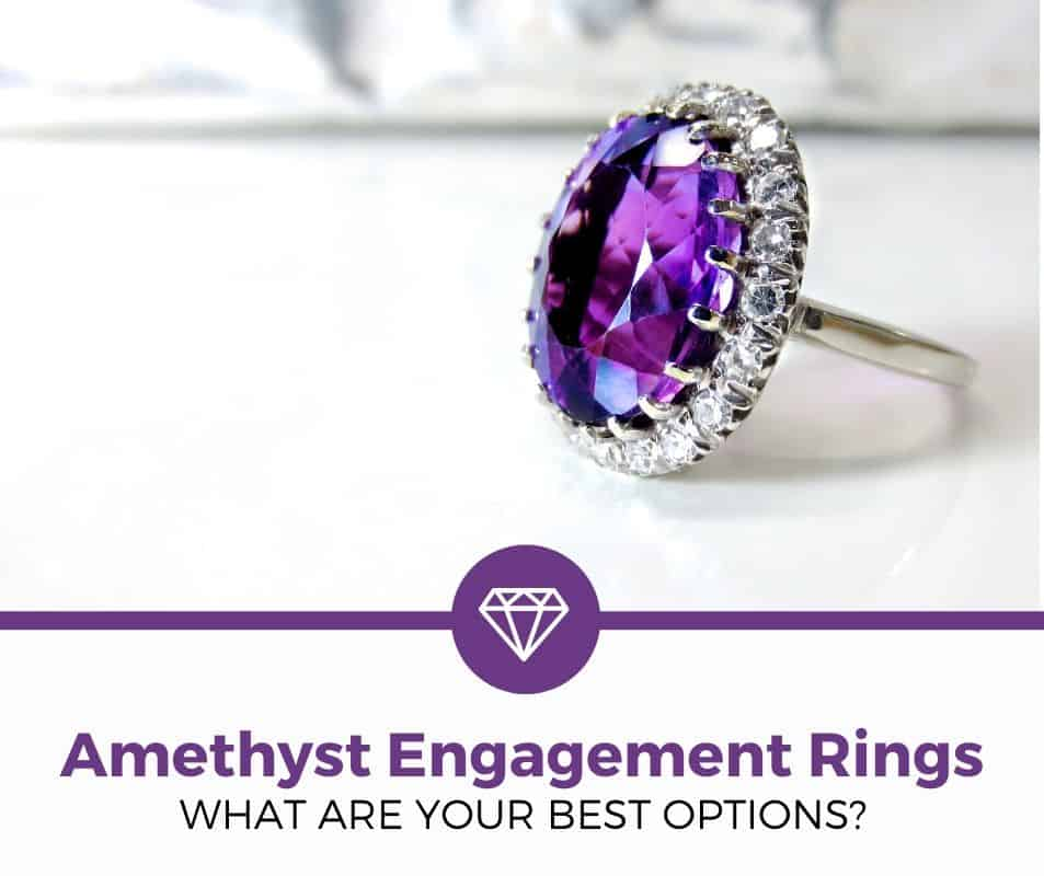 amethyst engagement ring review
