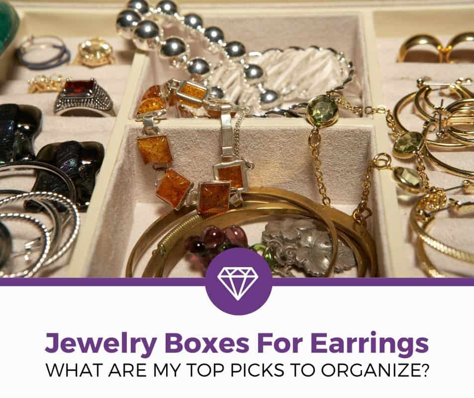 top best jewelry boxes for earrings review