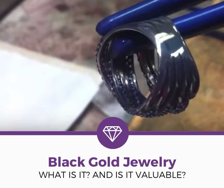 what is black gold jewelry explained