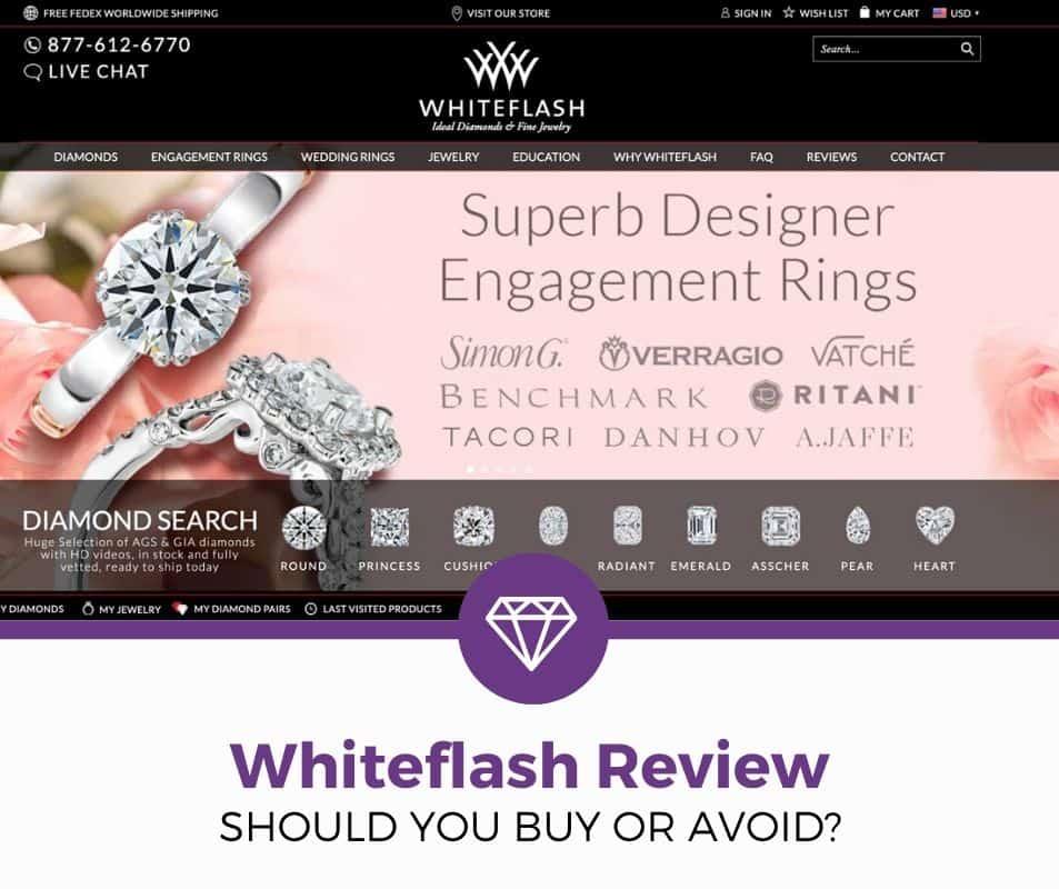 whiteflash review diamonds