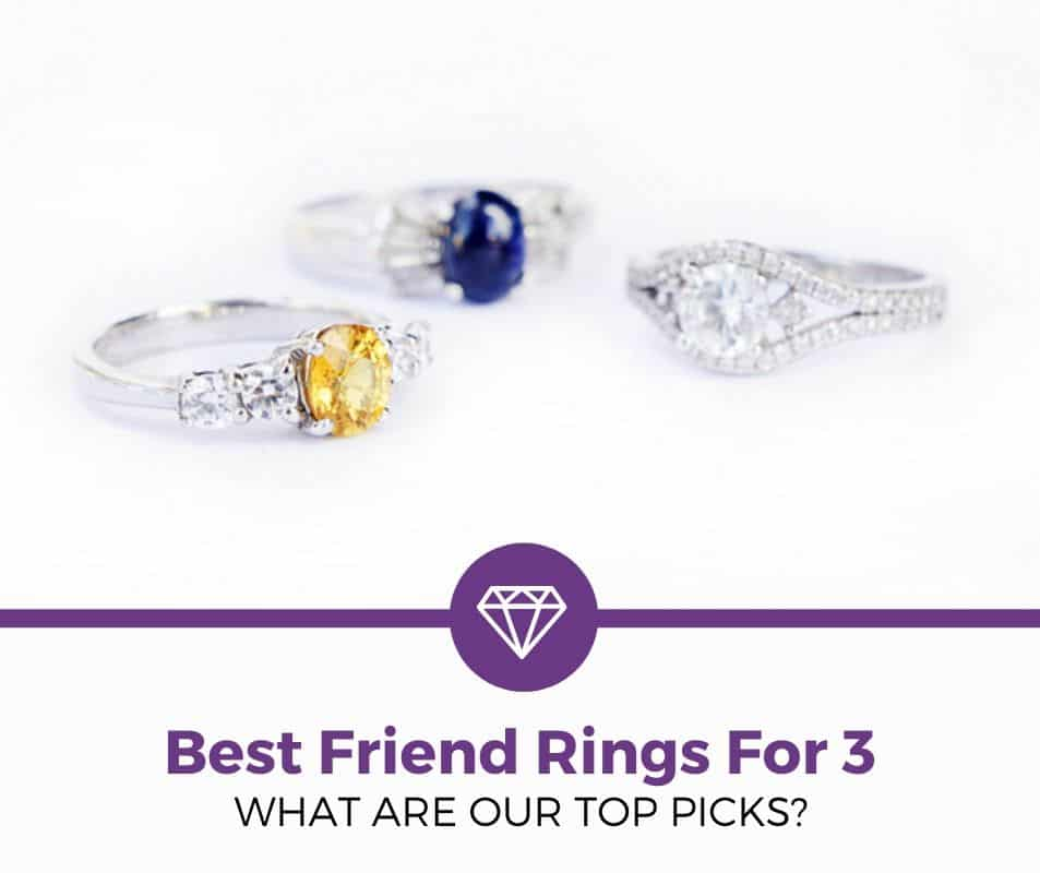 Best Friend Rings For 3 Review