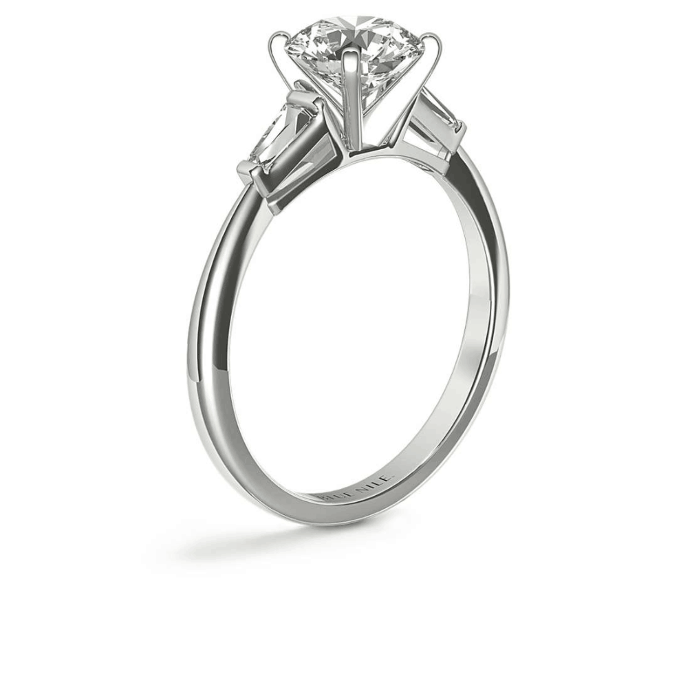 Bar Setting Engagement Ring