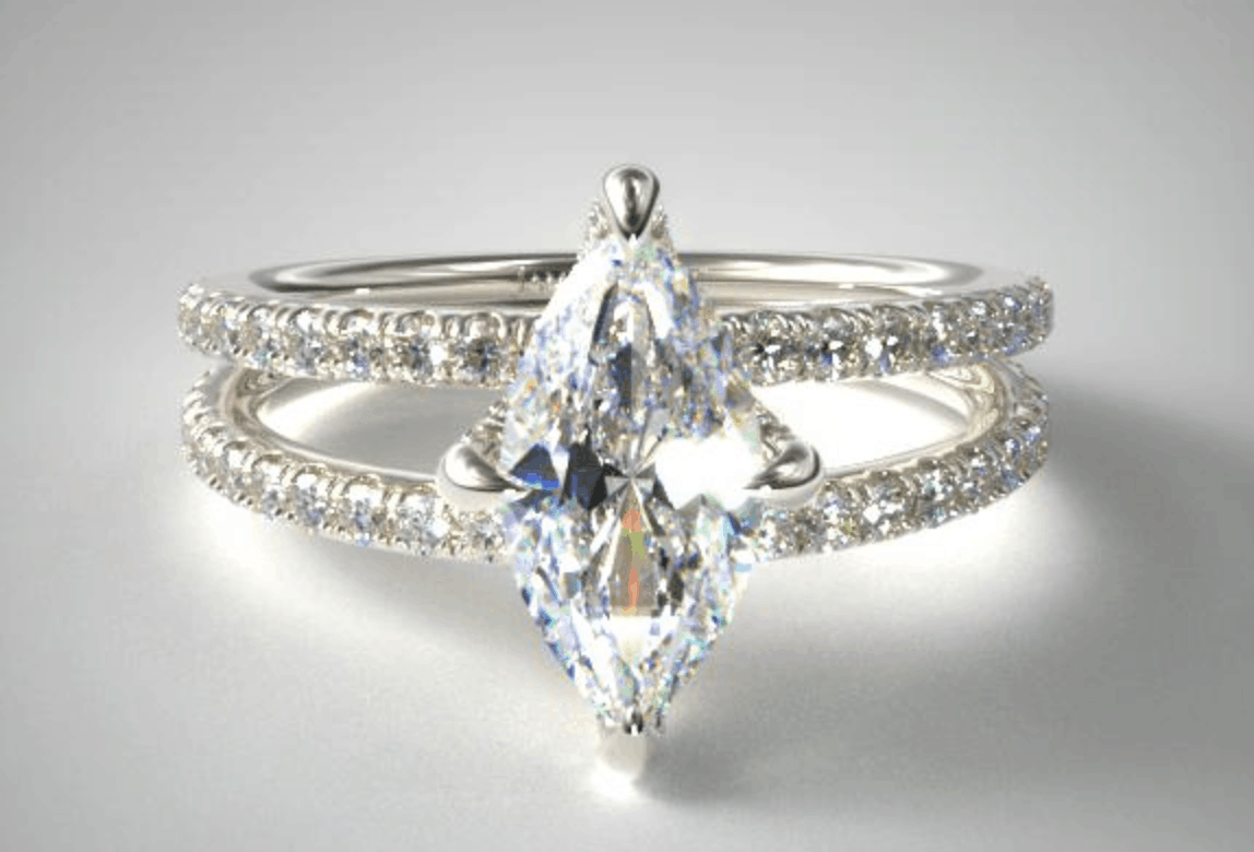 Shank/Split-Shank Engagement Ring