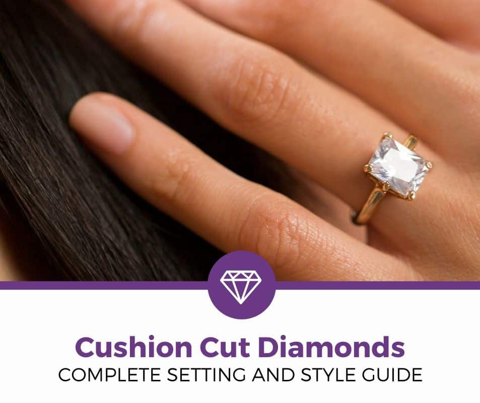 CUSHION CUT DIAMOND RINGS