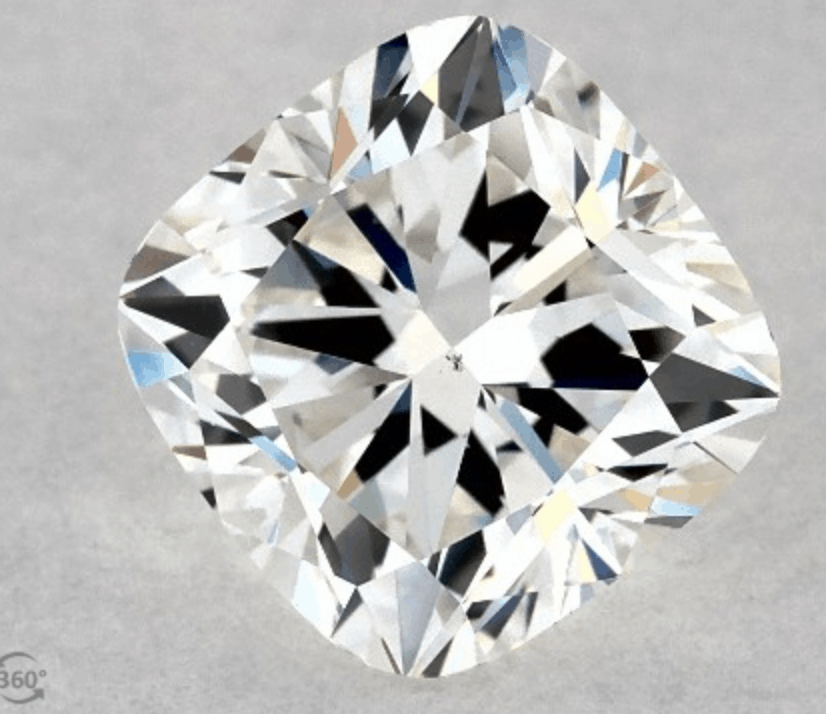 Chunky Cushion cut 1.01 carat diamond vs2