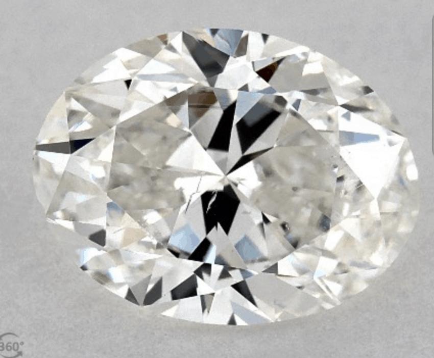 Loose Diamond Oval Cut