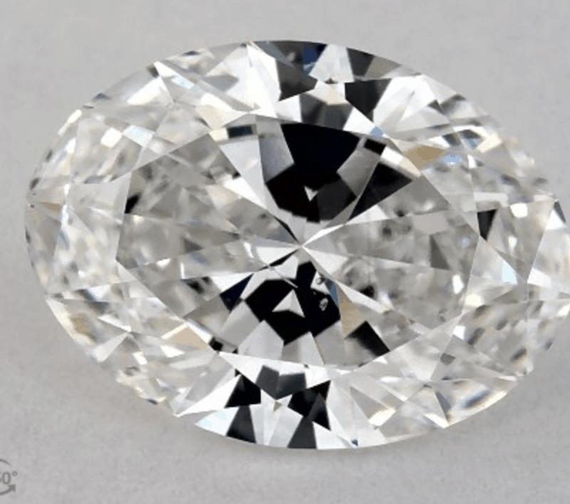 Loose Diamond Oval Cut 1.01 Carat
