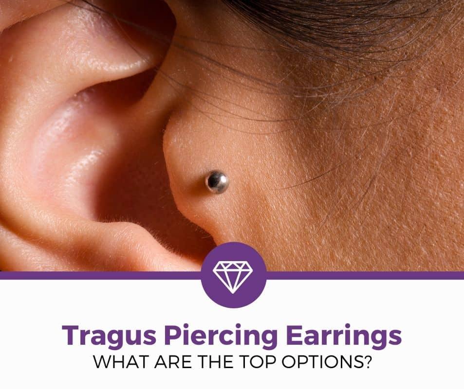 Forward Helix Barbell Piercing Implant Grade Tragus Piercing Conch Earring Titanium Cartilage Earring Stud Opal Tragus Bar Stud
