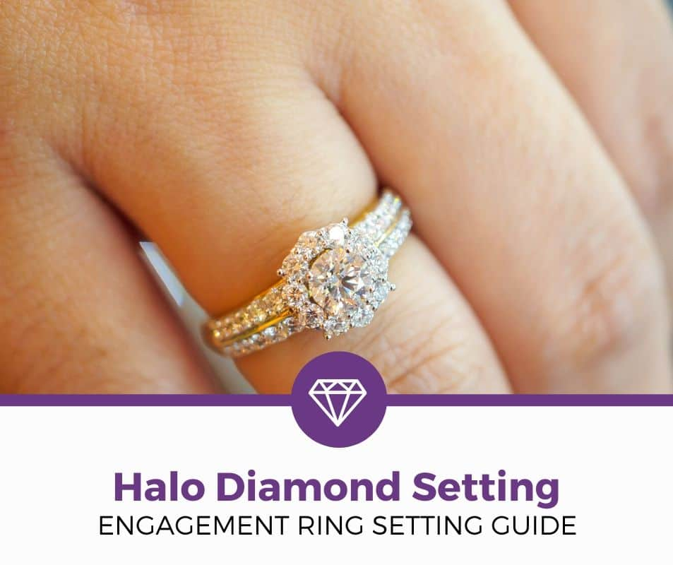 halo diamond setting guide