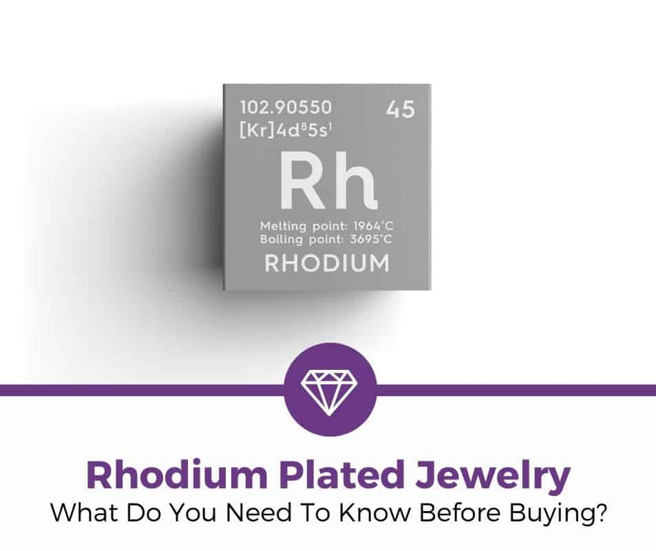 what do you need to know about rhodium plated jewelry