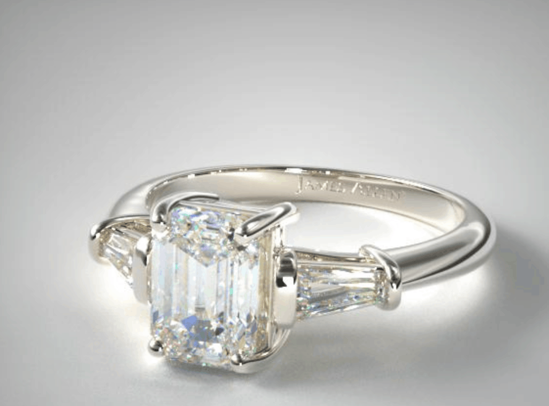 james allen 14k diamond engagement ring