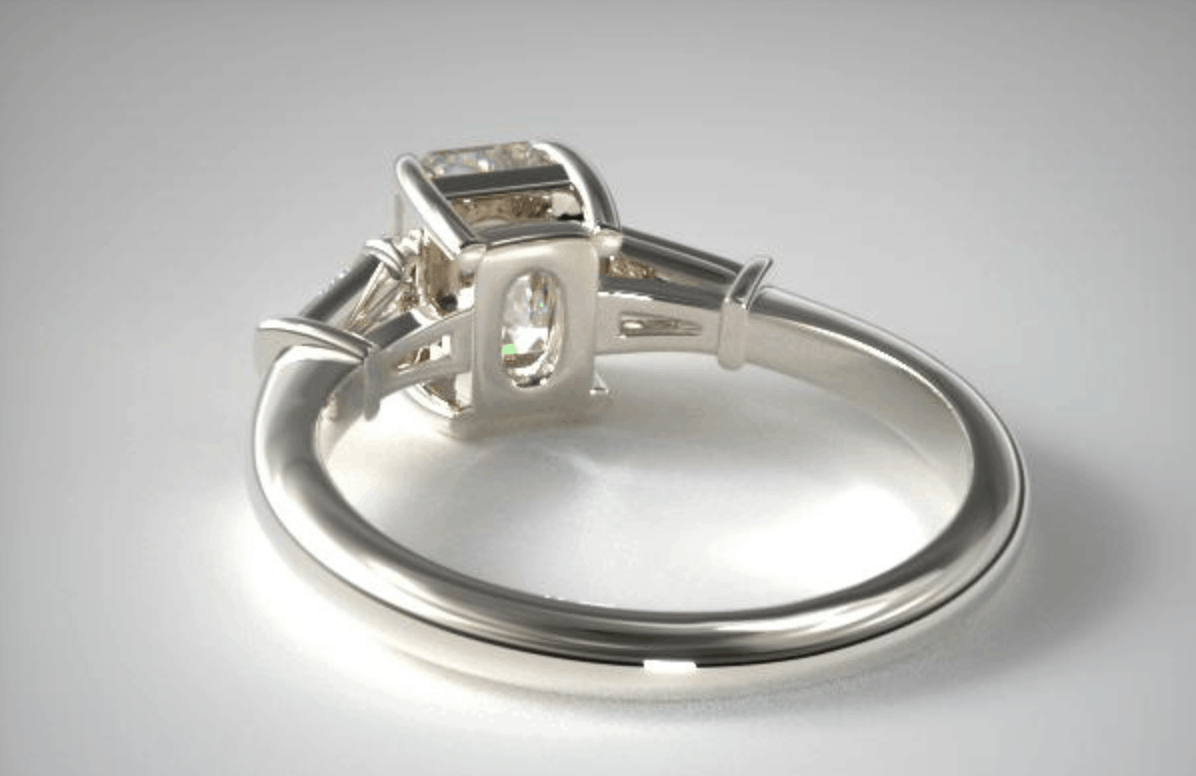 james allen white gold diamond engagement ring